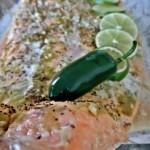 Chili Lime Baked Salmon