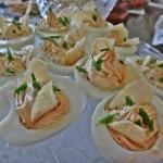 Sour Cream Deviled Eggs